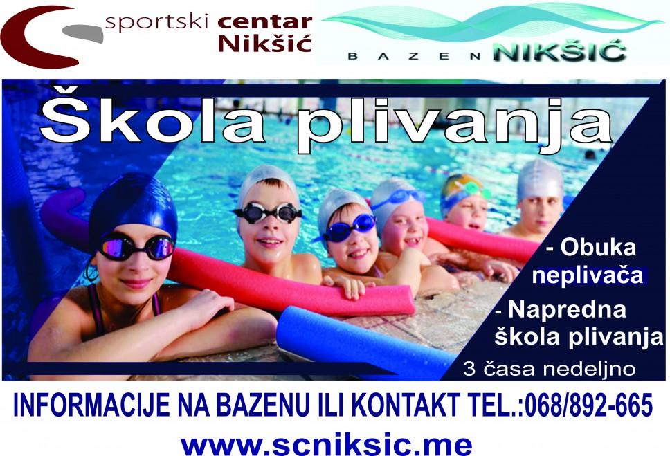 skola plivanja-poster